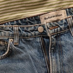 Reformation mom jeans